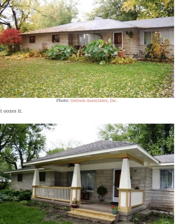 17 Best Ideas About Ranch Homes Exterior On Pinterest Ranch House Remodel Home Exterior