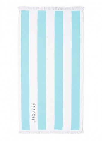 Seafolly Pool Towel - Love the shade of blue