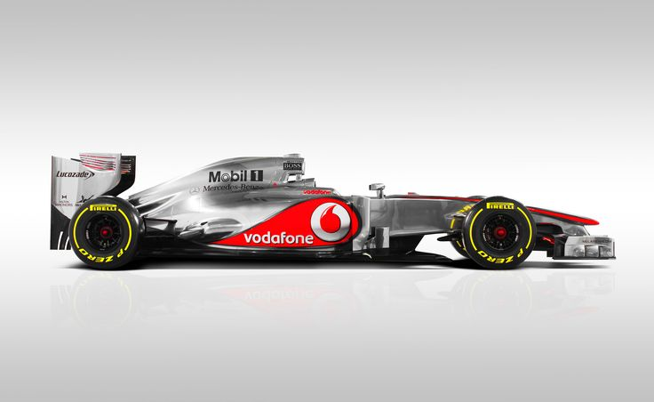 The McLaren MP4-27 - Launched Feb 2012