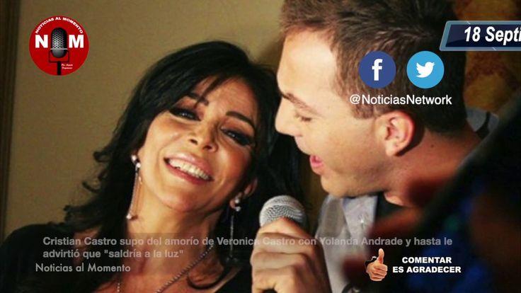 Cristian Castro sabía sobre el romance de Verónica Castro con Yolanda Andrade e incluso …   – YouTube Channel
