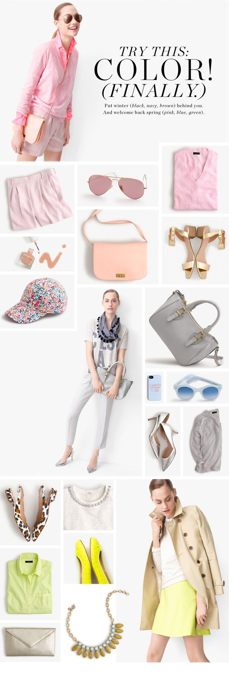 Bring in some new colors for spring at Garden City Center's J. Crew! Open now!