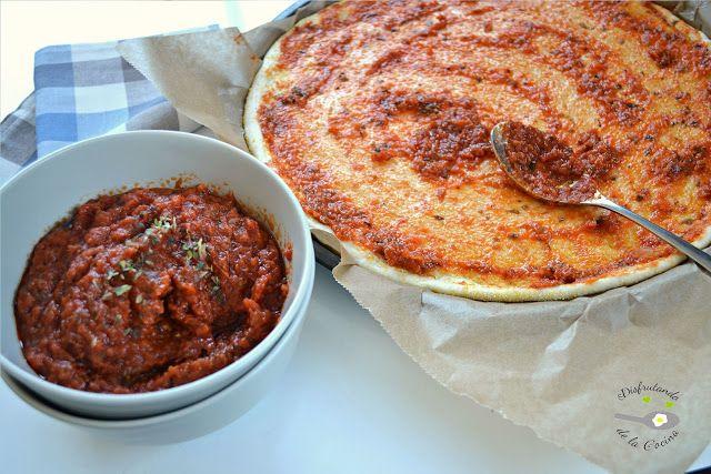 Masa de pizza al estilo Pizza Hut o Domino's Pizza