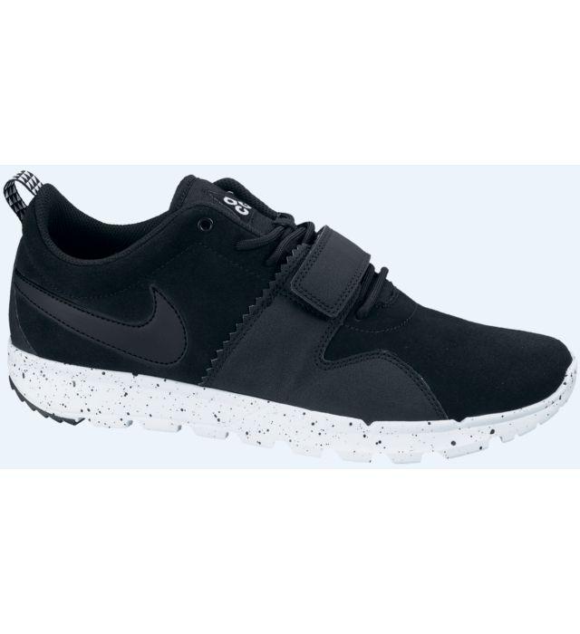 Nike SB Trainerendor Shoes - Black/Black | Nike Skate Shoes | Nike Trainers UK | Cheap Nike Shoes Online | Cheap Skate Shoes For Sale | Skatehut