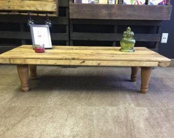 Table de salon en bois de palettes - Modifier la fiche - Etsy