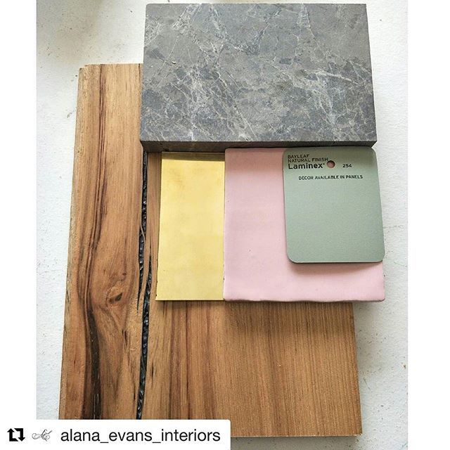 Lovely to see our tiles come to life in creative schemes 💕 Thanks for sharing @alana_evans_interiors  #flatlay #interiordesign #pinktiles #colourtrends2017 #tiletrends2017 #lovetiles #perinitiles
