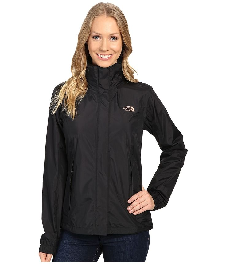 THE NORTH FACE THE NORTH FACE - RESOLVE JACKET (TNF BLACK/ROSE DAWN) WOMEN'S COAT. #thenorthface #cloth #