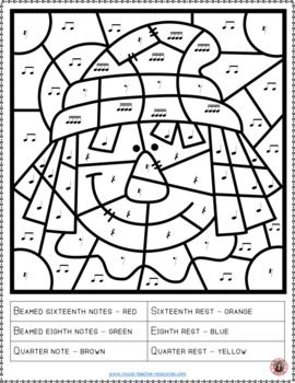 Fall Coloring Sheets 26 Music Pages