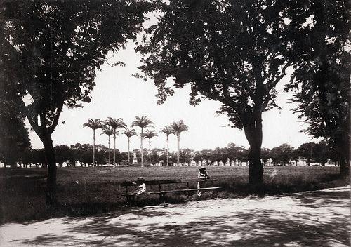 La Savane, Fort de France, Martinique, ca 1900