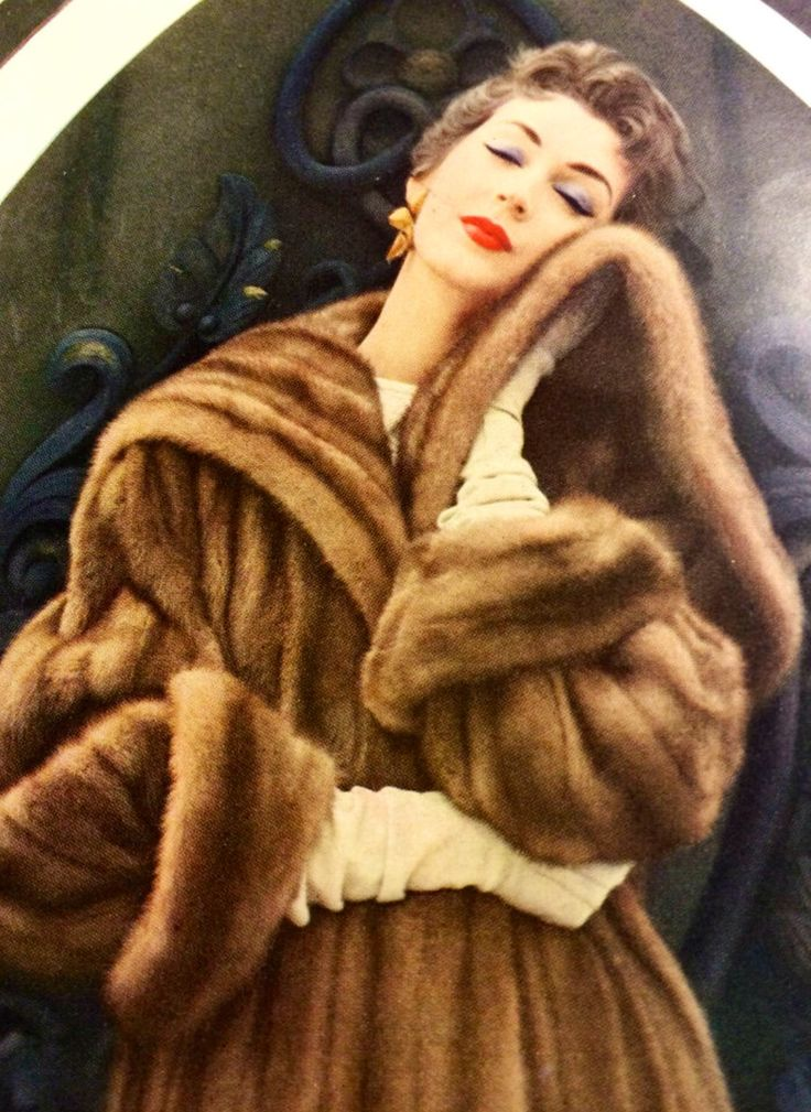 25 Best Vintage Fur Coat Ideas On Pinterest Black Faux
