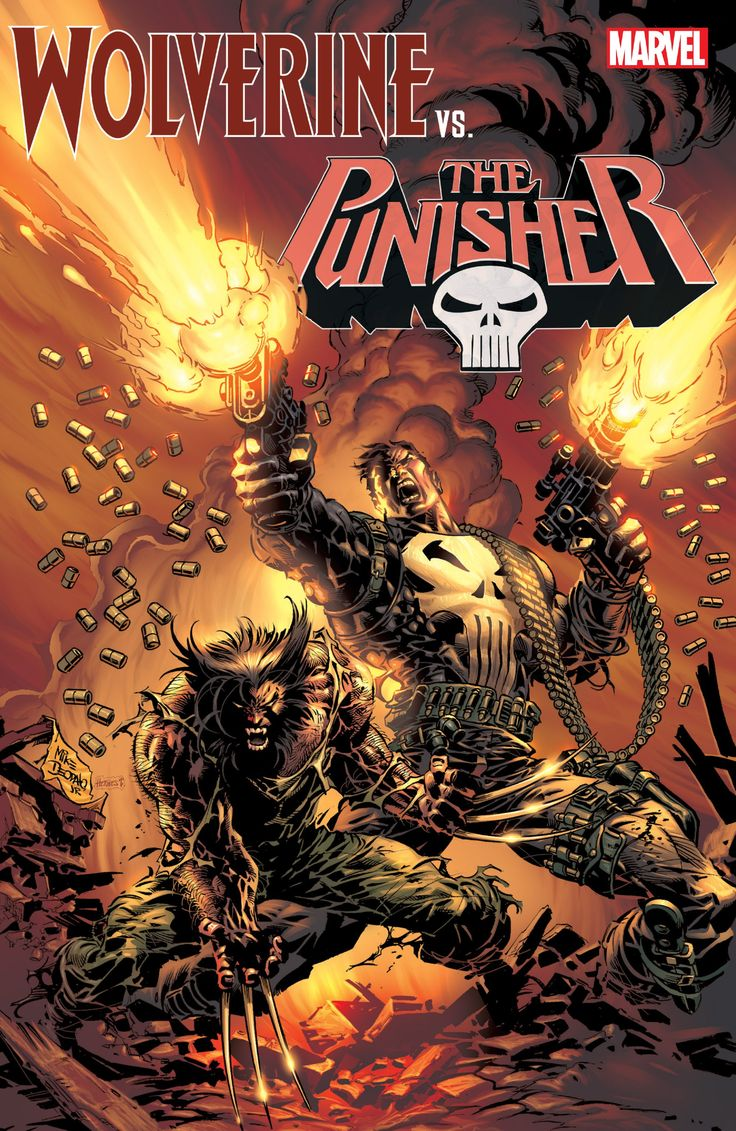 Collects Punisher War Journal (1988) #6-7, Wolverine/Punisher: Damaging Evidence #1-3, Punisher War Zone (1992) 19, Wolverine/Punisher: Revelation 1-4, Punisher (2001) 16-17, Wolverine (1988) 186, Wolverine/Punisher (2004) #1-5, Astonishing Tales: Wolverine/Punisher #1-6.    Which are better, claws or guns? Find out in this brutal collection of Wolverine/Punisher fights — and grudging team-ups! From their first throwdown in the heart of Africa, there's no love los...
