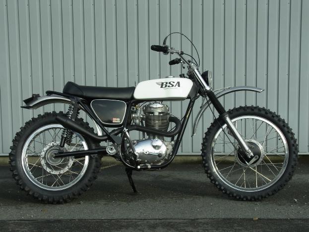 1972 BSA B50MX  #motorcycle