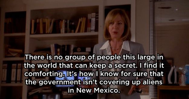 On government leaks: | 13 Times When C.J. Cregg Was Totally Right