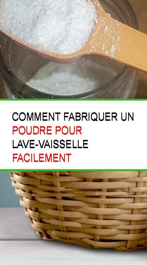 Comment fabriquer un poudre pour lave-vaisselle facilement