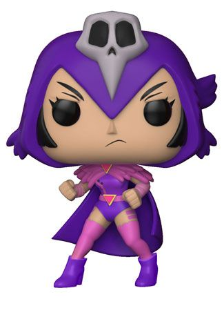 """Pop! TV: Teen Titans Go! The Night Begins to Shine S1The Night Begins to Shine from Teen Titans Go! is coming to Pop!The Teen Titans Go! original song is lip-synced by Cyborg, and the episode featuressome of your favorite Teen Titans Go! characters in 80s-inspired looks.This series of Pop! features Raven, Beast Boy, Cyborg, Bear and Starfire!A Toys""""R""""Us you can find a glow in the darkversion of Cyborg, featured with an axe. Also, look for a flocked version of Bear!Please Note: Final Images…"""
