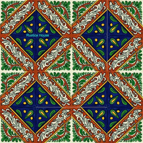 Hand Crafted Mexican Tile Morelia Mymexicantile Mexicantiles Decorativetiles
