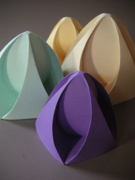 The Institute For Figuring // Online Exhibit: Mathematical Paper Folding I Dr Jeannine Mosley