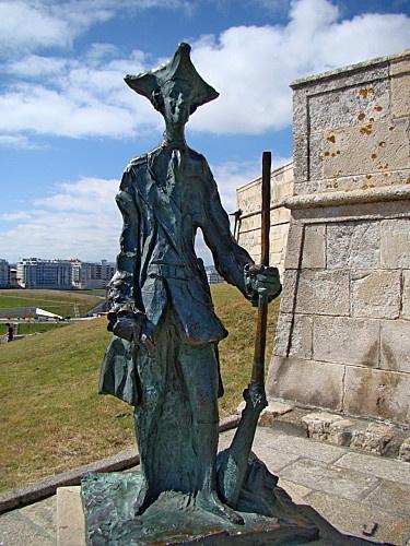 le gardien du phare de La Corogne