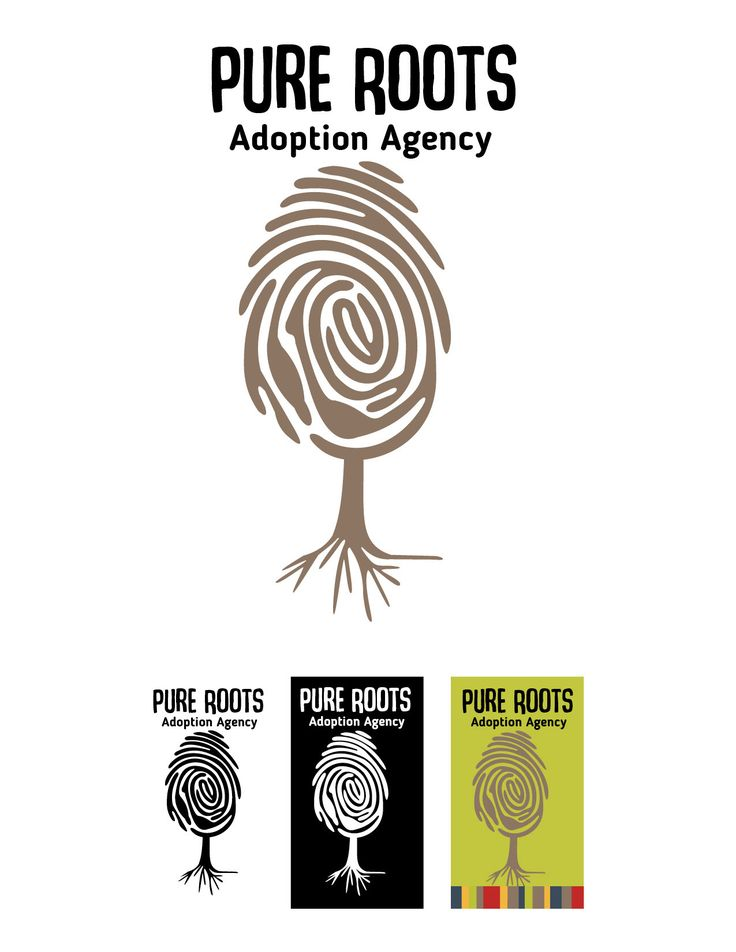"Check out this Behance project ""Pure Roots Adoption"