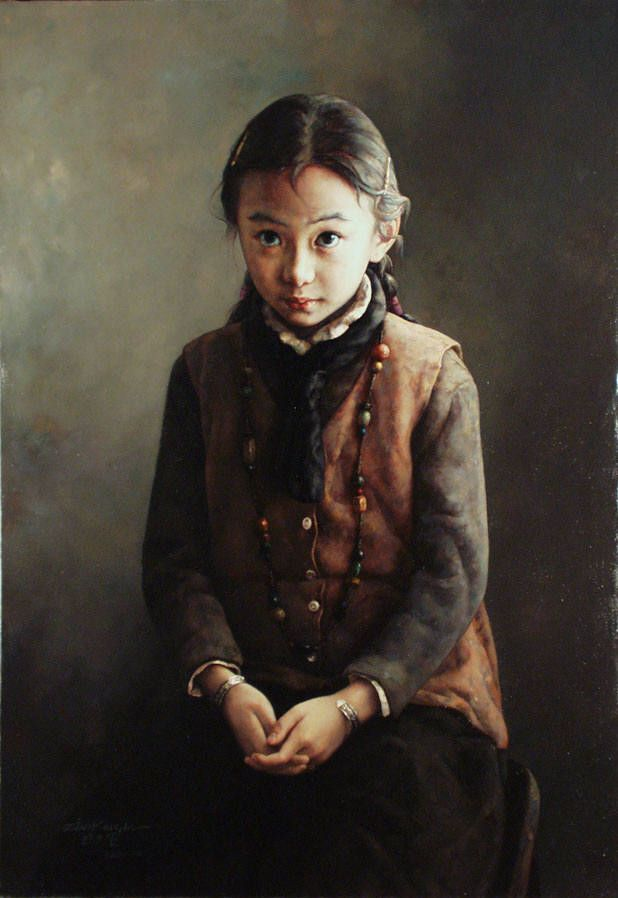 by Zhao Kailin (b1961, Bengbu, China)
