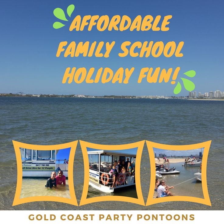School Holidays are nearly here! Looking for something different to do with the kids? Perfect weather, stunning scenery and great spots to drop anchor! We are nearly booked up so Call Now on 0417 78- 260 or message us for more information. #schoolholidays #goldcoast#goldcoastpartypontoons #boathiregoldcoast #fun #beach #ocean http://www.goldcoastpartypontoons.com.au/