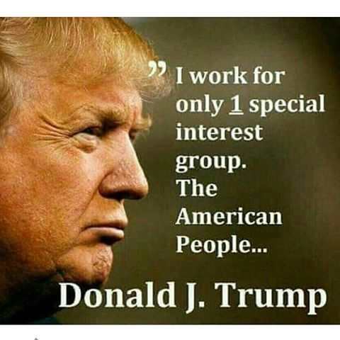 if he works for American people than why does half disagree on how he's running.