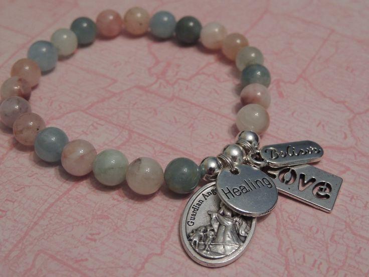 Morganite Gemstone Bracelet - Healing Stones