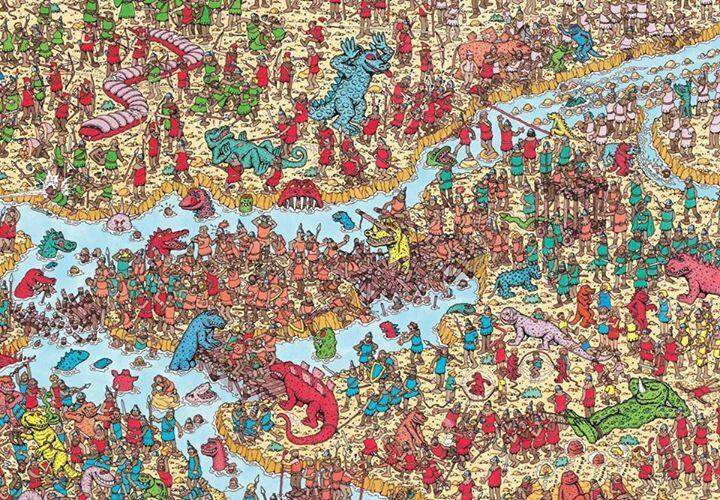 Where's Wally - Martin Handford