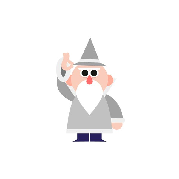 Wizard Sticker Set for Dropbox Paper on Behance