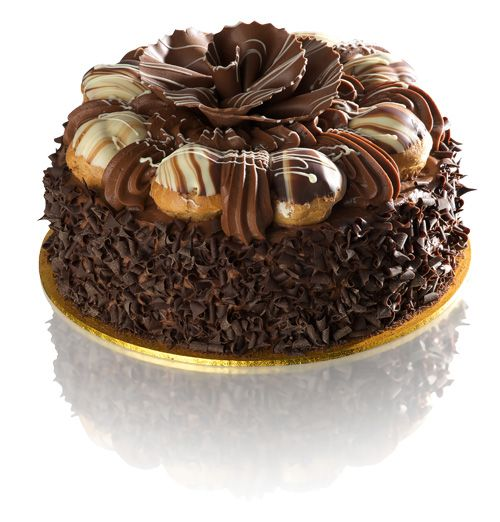 Double Chocolate Dream Gateau, the perfect cake for a real chocolate lover