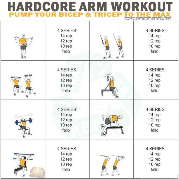 Hardcore Arm Workout -...