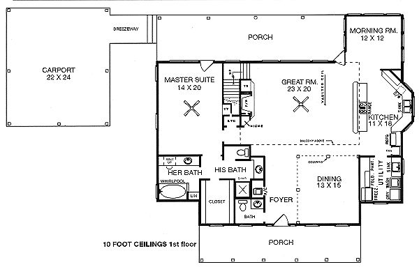3 bedrooms 2 5 baths master downstairs 2 bedrooms for House plans with downstairs master bedroom