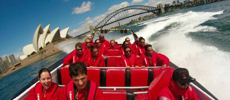 Jet boat ride in the Sydney Harbour. Tons of fun and awesome views of the Sydney Opera House and Harbour Bridge! (Click the image to find out more)