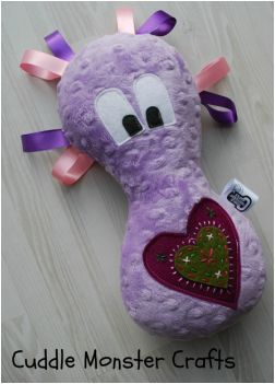 You can find out more about Cuddle Monsters from www.cuddlemonstercrafts.co.uk