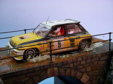 Diorama Rally Puente en Otoño