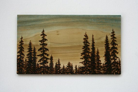 I want to learn how to do this!  My dad use to have a wood burning kit when we were kids and it was so interesting to watch him!