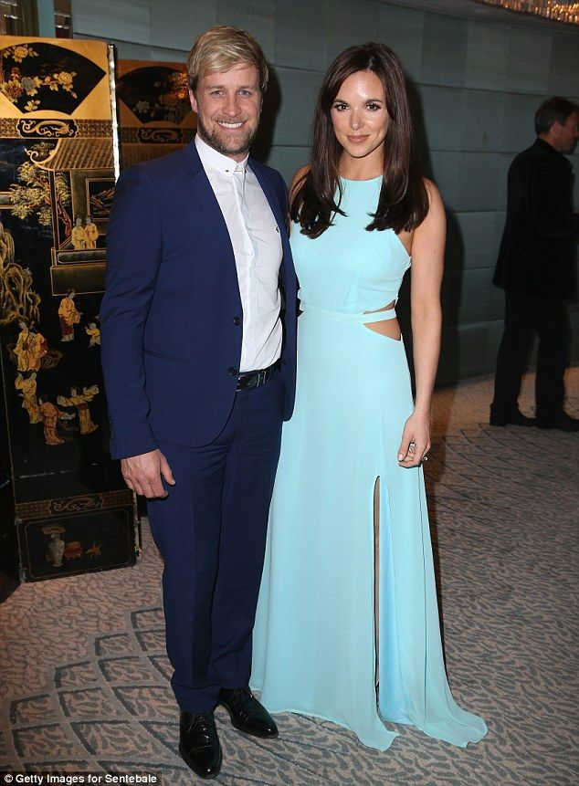 Westlife singer Kian Egan and wife Jodi Albert attend the Sentebale Summer Party...