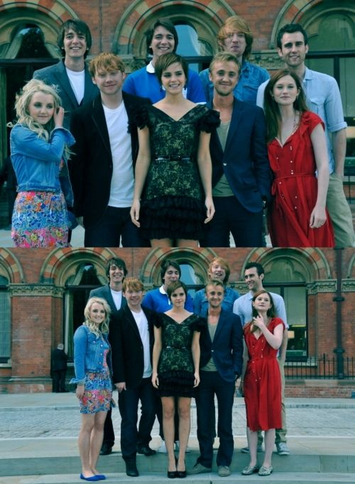 Harry Potter actors...one last time. = (