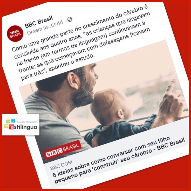 O acesso à linguagem muda o desenvolvimento e o aprendizado de bebês e crianças pequenas, segundo artigo da BBC Brasil. Estimule e converse com seus bebês e crianças, desde cedo. Os jogos da Estilíngua são ótimas ferramentas para essa estimulação.  #bbcbrasil #estilíngua #fonoaudiologia #linguageminfantil #estimulaçãoprecoce #família #aprendizado  http://www.bbc.com/portuguese/geral-40488913?ocid=socialflow_facebook