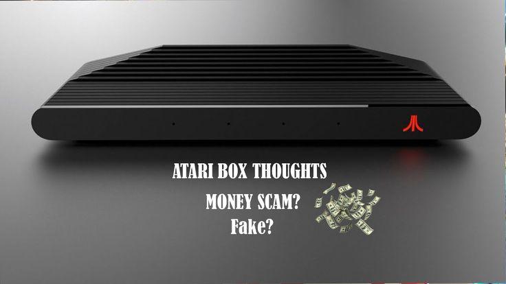 My opinion on the Atari box