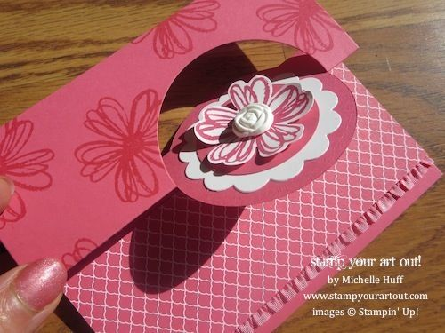 Stampin' Up!® Circle Card Thinlits Dies & Flower Shop stamp set - Stamp Your Art Out!