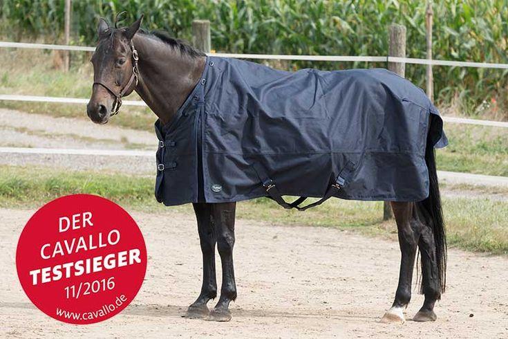 Regendecke Rainmax 1800 D lite - Testsieger der Pferdezeitschrift Cavallo 11/2016 - Regendeckentest
