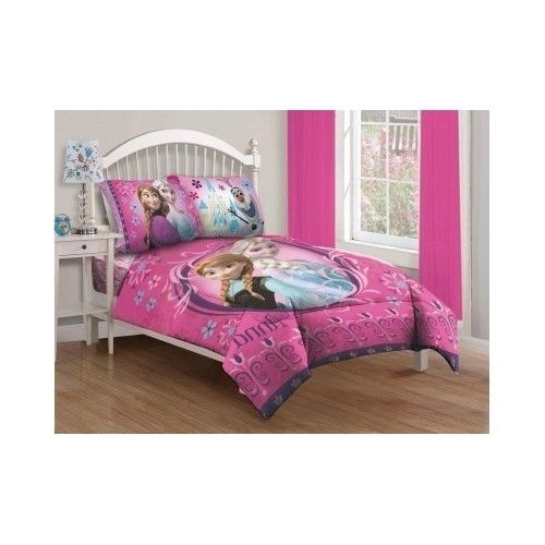 Girls Comforter Set With Fitted Sheet Bedding Duvet Cover