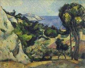 Paul Cézanne - L'Estaque