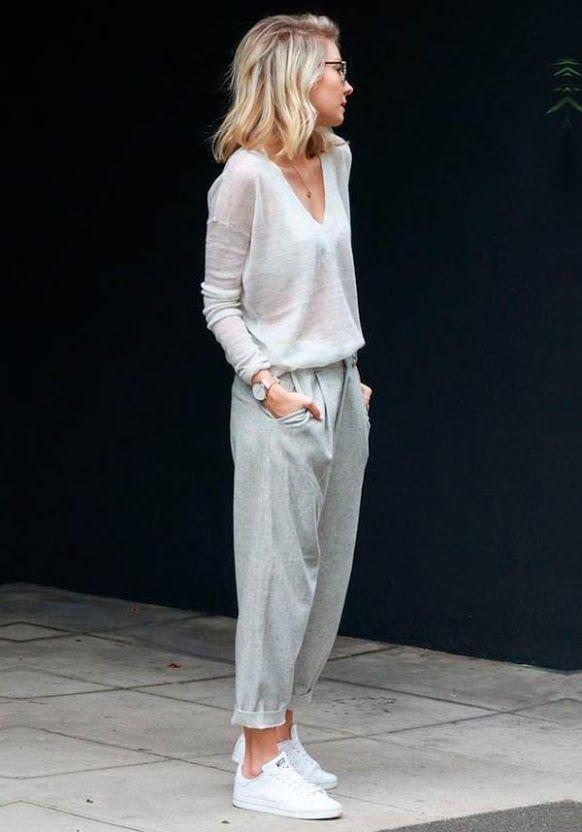 a calça de moletom é super estilosa e cool