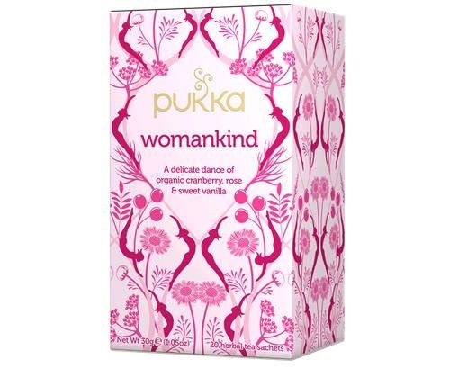 Womankind Tea 20 Bags Pukka Herbs