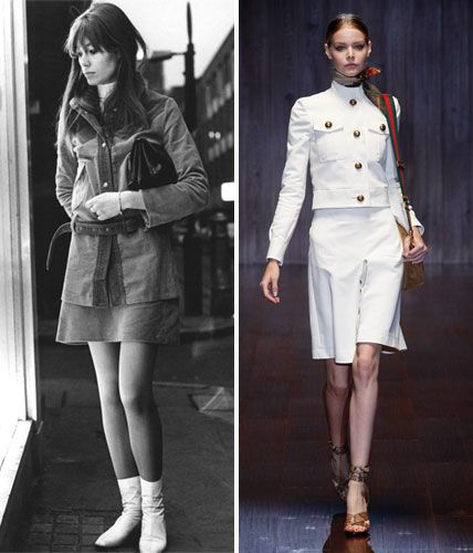 Then and Now: These Sexy '70s Trends Are Making a Comeback - The Skirt Set  - from InStyle.com