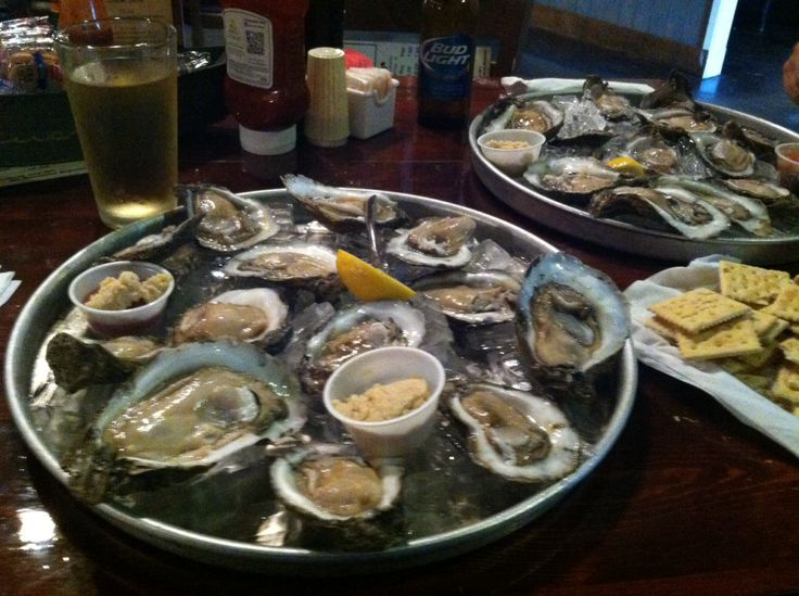 Oysters on the Half Shell at Vera's Restaurant in Slidell, Louisiana