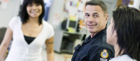 Cst. Rick Lavalee of the Diversity & Aboriginal Policing Section
