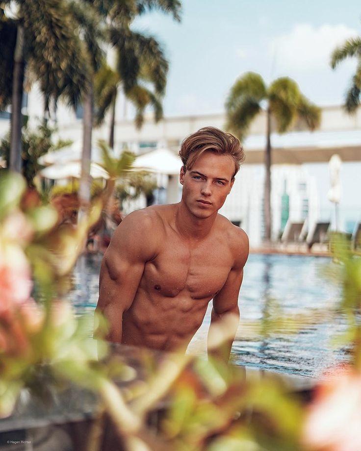 Blonde german men nude