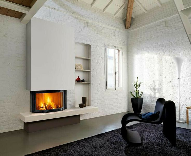 Classic fireplace